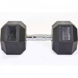 Гантель гексагональная CrossGym 1х37,5 кг, код: SC-8013-37_5