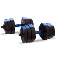 Гантелі складальні CrossGym 20 кг, код: TA-1826-20