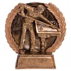 Статуэтка наградная спортивная PlayGame Бильярдист, код: C-3195-C-S52