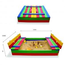 Дитяча пісочниця SportBaby 29 100х100 см, код: Пісочниця 29