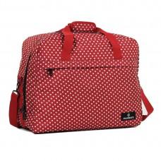 Сумка дорожня Members Essential On-Board Travel Bag Red Polka 40 л, код: 927839