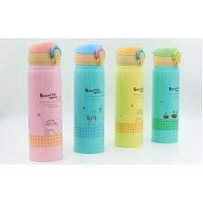 Бутылка для воды-термос FitGo Beautiful World 500 мл, код: 7177