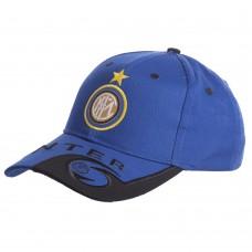 Кепка футбольного клубу Inter, синій-чорний, код: CO-0802-S52