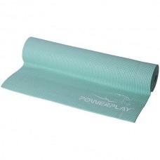 Коврик для фитнеса и йоги PowerPlay 1730х610х6 мм, код: PP_4010_Mint_(173*0,6)