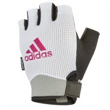 Перчатки для фитнеса Adidas S белый, код: ADGB-13243
