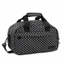 Сумка дорожня Members Essential On-Board Travel Bag Black Polka 12,5 л, код: 927841