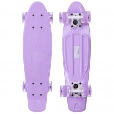 Скейтборд пластиковий Penny Led Wheels Fish 22in з світяться колесами, код: SK-405-6-S52