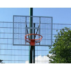 Баскетбольный щит антивандальный PlayGame 1200х900 мм, код: SS00426-LD
