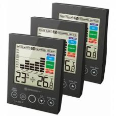 Термометр-гігрометр Bresser MA With Mould Alert Black (3 шт), код: 927560-SVA