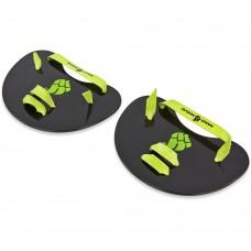 Лопатки для плавання гребні MadWave Finger Paddles 150x155см, чорний, код: M074505000W-S52