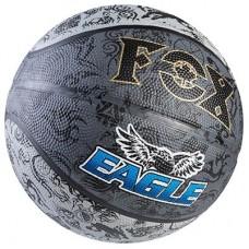 М'яч баскетбольний Fox Eagle чорний, код: Fox-2-WS