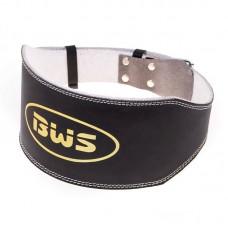 Пояс атлетический BWS L широкий черный, код: BWS15024L-WS