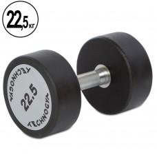 Гантель цельная профессиональная TechnoGym 1х22,5 кг, код: TG-1834-22_5