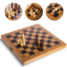Шахматы, шашки, нарды 3 в 1 ChessTour, код: B-3116
