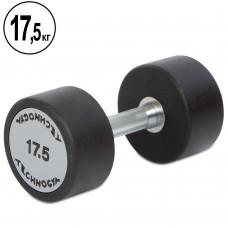 Гантель цельная профессиональная TechnoGym 1х17,5 кг, код: TG-1834-17_5
