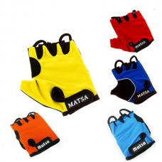 Перчатки вело, фитнес Matsa лайкра размер S, код: MT-1000S