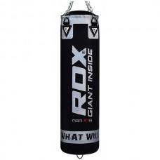 Мішок для боксу RDX Leather Black 1200 мм., Код: RX-30104